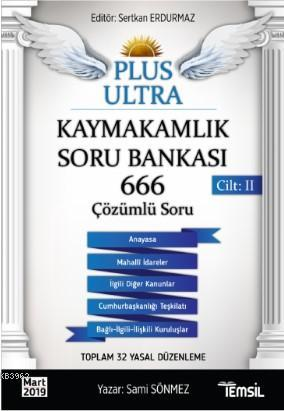 Plus Ultra Kaymakamlık Soru Bankası Cilt II
