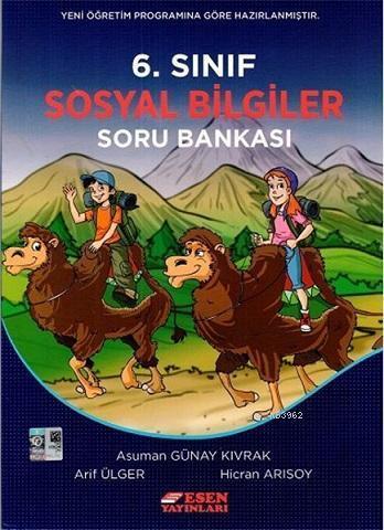 Esen 6.Sınıf Sosyal Bilgiler Soru Bankası