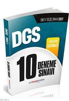 2017 DGS Tamamı Çözümlü 10 Deneme Sınavı