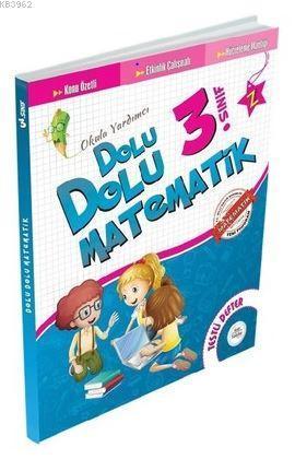 3.Sınıf Dolu Dolu Matematik Testli Defter