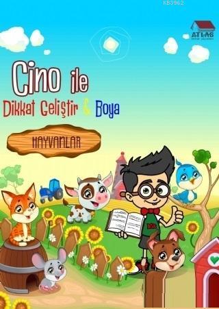 Hayvanlar - Cino ile Dikkat Geliştir ve Boya