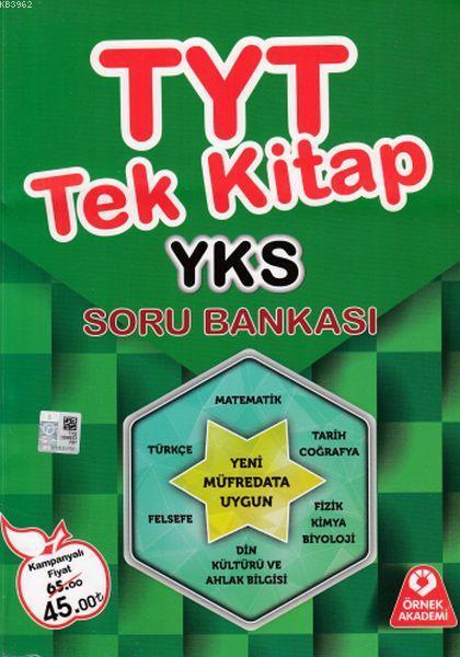 YKS Tek Kitap Soru Bankası