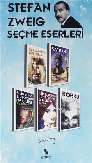 Stefan Zweig Seçme Eserleri - (5 Kitap Kutu)