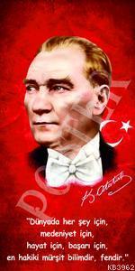 Kemal Atatürk Kırmızı