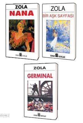 Emile Zola Klasikleri 3 Kitap Set