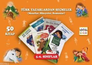 Türk Yazarlardan Seçmeler (50 Kitap)