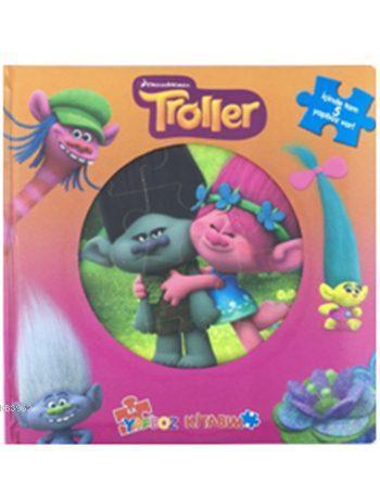 Troller - İlk Yapboz Kitabım (3+ Yaş)
