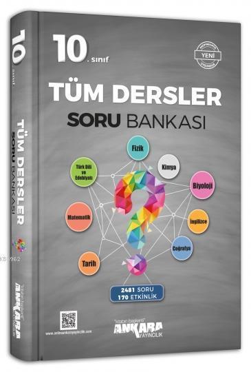 Ankara Yayınları 10. Sınıf Tüm Dersler Soru Bankası Ankara