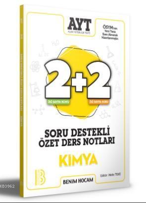 2021 AYT Kimya 2+2 Soru Destekli Özet Ders Notları