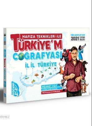 2021 Tüm Adaylar İçin Hafıza Teknikleri İle Türkiye'm Coğrafyası