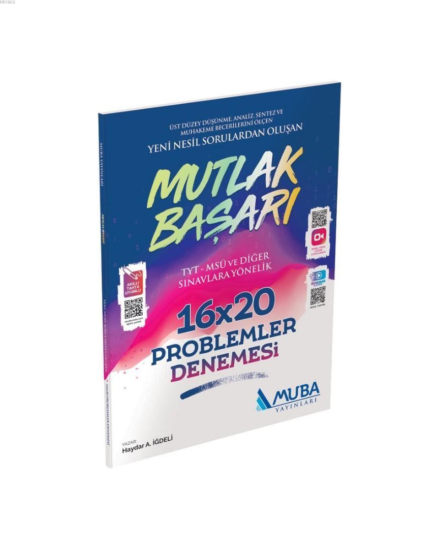 Muba Yayınları TYT Problemler Mutlak Başarı 16x20 Denemesi Muba