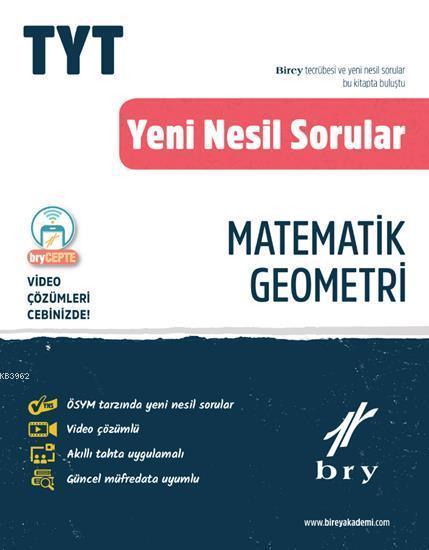 Birey Yayınları TYT Matematik Geometri Video Çözümlü Soru Bankası