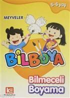 Bilboya Bilmeceli Boyama - Meyveler
