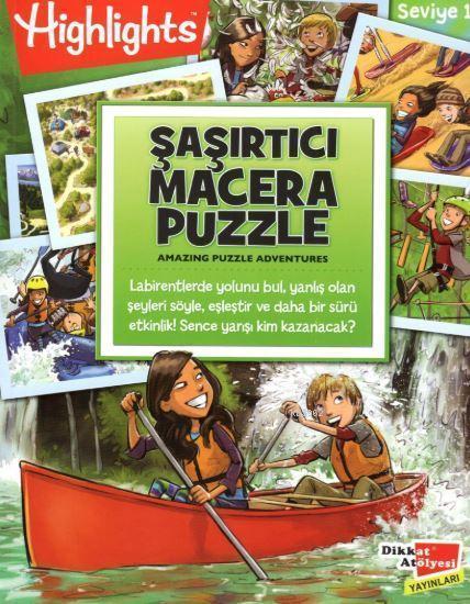 Highlights Şaşırtıcı Macera Puzzle 2'li Set
