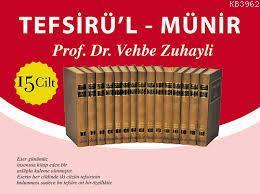 Tefsir'ül Münir (15 Cilt) (Büyük Boy - Şamuha Kağıt)