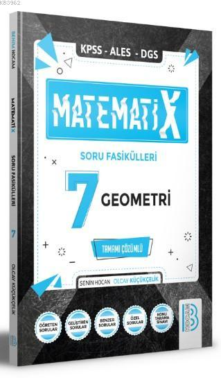 Benim Hocam Yayınları 2021 KPSS ALES DGS MatematiX Soru Fasikülleri 7