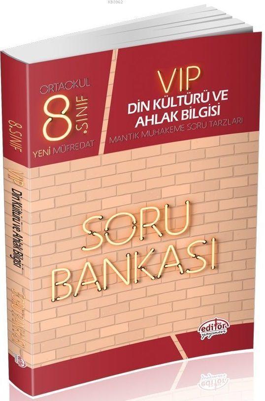 8. Sınıf Vip Din Kültürü ve Ahlak Bilgisi Soru Bankası