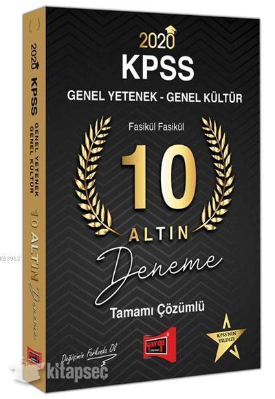 KPSS GYGK Tamamı Çöz. 10 Deneme 2020