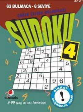 Sudoku 4; 63 Bulmaca - 6 Seviye