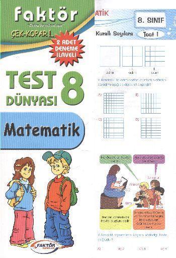 8. Sınıf Matematik Test Dünyası