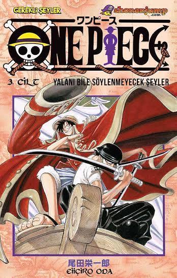 One Piece Cilt 3: Yalanı Bile Söylenmeyecek Şeyler