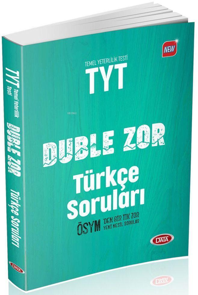 Data Yayınları TYT Duble Zor Türkçe Soruları Data