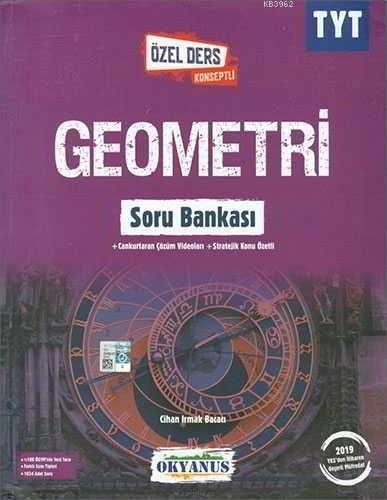 Okyanus Yayınları TYT Geometri Özel Ders Konseptli Soru Bankası Okyanus Yayıncılık K