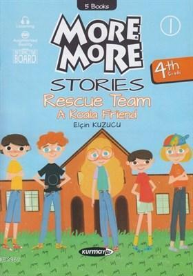 More & More -  4. Sınıf Englısh Hikaye Seti (5 Kitap)