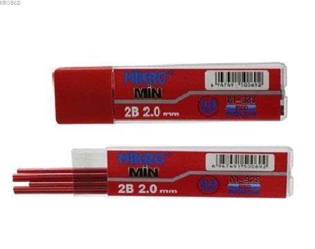Mikro M-928 2.0X90Mm Kurşun Kalem Ucu Kirmizi