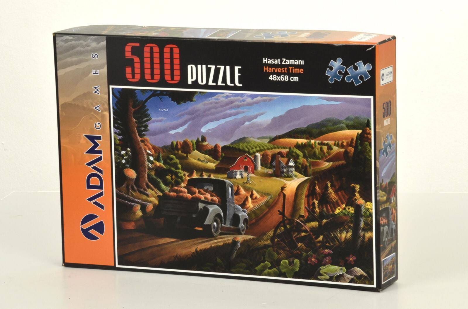 Adam Games Hasat Zamanı 500 Parça Puzzle 48x68