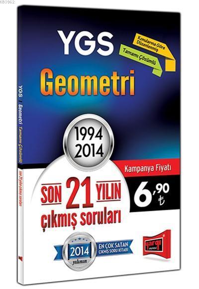 YGS Geometri Son 21 Yılın Çıkmış Soruları; 1994 - 2014