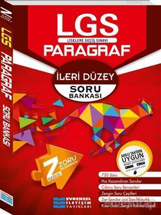 2018 8. Sınıf LGS İleri Düzey Z Serisi Paragraf Soru Bankası