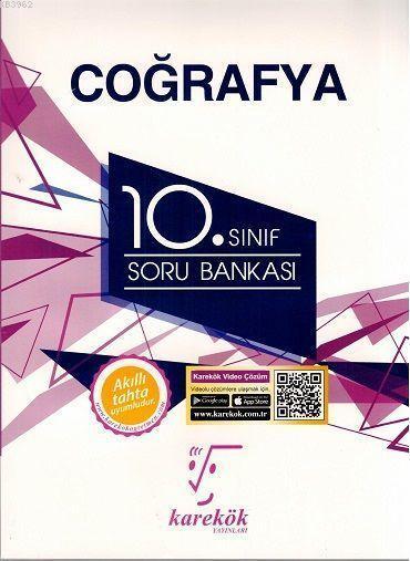 Karekök Yayınları 10. Sınıf Coğrafya Soru Bankası Karekök