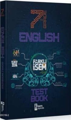 İsem 2021 7.Sınıf Farklı İsem İngilizce Soru Bankası İsem Yayıncılık
