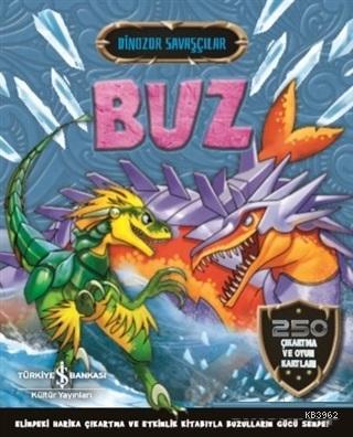 Buz - Dinozor Savaşçılar 250 Çıkartma ve Oyun Kartları