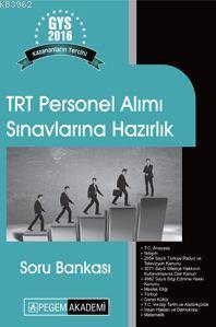 TRT Personel Alımı Görevde Yükselme Sınavlarına Hazırlık Soru Bankası 2016