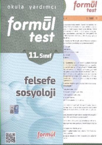 Formül 11. Sınıf Felsefe Sosyoloji Yaprak Test