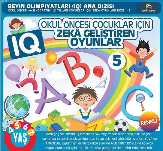 4-7 Yaş Okul Öncesi Çocuklar İçin IQ Zeka Geliştiren Oyunlar 5