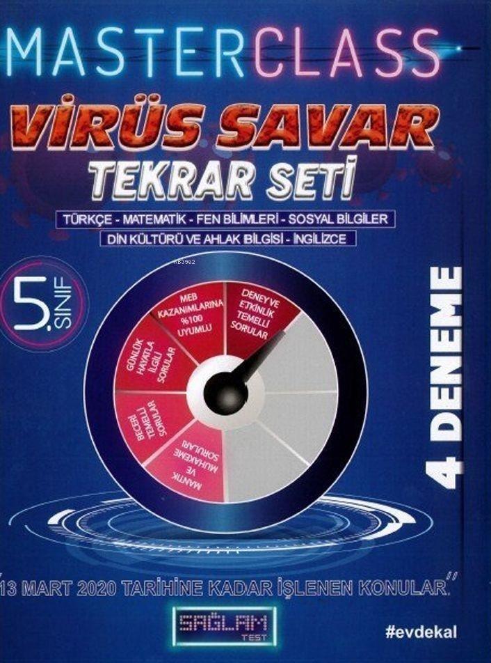 Molekül Yayınları 5. Sınıf Virüs Savar Masterclass Tekrar Seti Molekül
