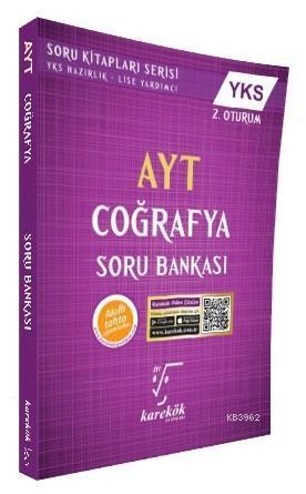 Karekök Yayınları AYT Coğrafya Soru Bankası Karekök