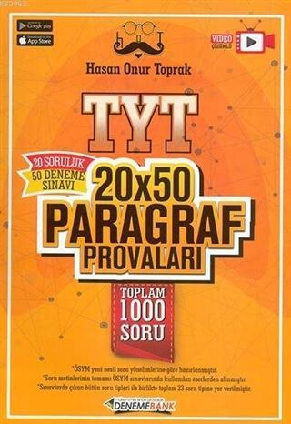 2021 TYT 20x50 Paragraf Provaları
