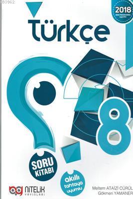 Nitelik Yayınları 8. Sınıf Türkçe Soru Kitabı Nitelik
