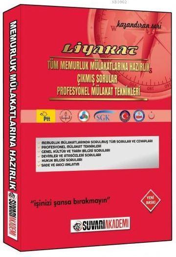 Süvari Akademi Liyakat Memurluk Mülakatlarına Hazırlık Kitabı