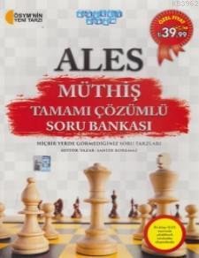 ALES Müthiş Tamamı Çözümlü Soru Bankası