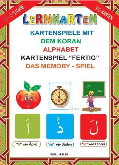 LERNKARTEN - Kartenspiele mit dem Koran Alphabet