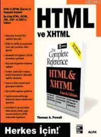 HTML ve XHTML; Herkes İçin!