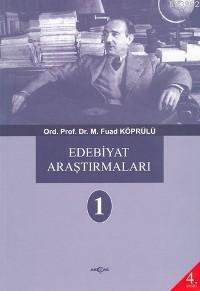 Edebiyat Araştırmaları 1