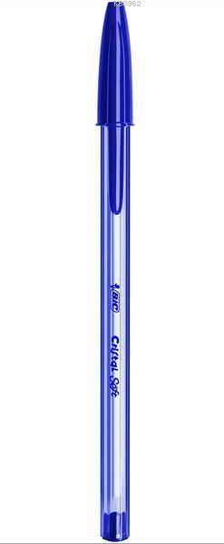 Bic Cristal Soft Tükenmez Kalem Mavi