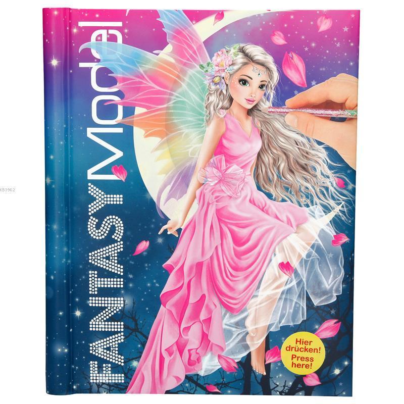 Top Model Fantasy Sesli Işıklı Boyama 043433_A