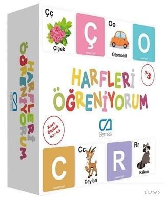 Harfleri Öğreniyorum - Eğitici Oyun Kartları